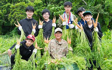 大宜味村収穫体験