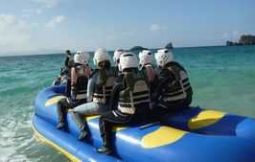 「【本部町ほか】海の体験学習 体験ダイビング&ドラゴンボート」のサムネイル画像